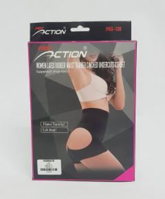Pro Action Women Latex Rubber Waist Trainer Cinched Undercuts Corset