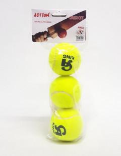 3 Pcs Pack Of Cricket Balls