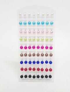 34 Pairs of Stud Earrings