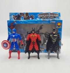 3 Pcs Super Hero Toys