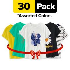 30 PCS assorted ladies tshirts 150 AED
