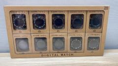 Live Selling 10 pcs bundle tomy digital watches
