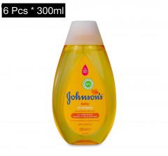 Live Selling 6 Pcs Baby Shampoo - 300 ML