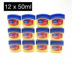 Live Selling 12 Pcs Set Vaseline Vitamin E Pure Petroleum Jelly Blueseal - 50ml